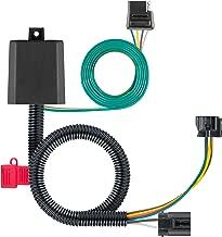 CURT 56332 Vehicle-Side Custom 4-Pin Trailer Wiring Harness for Select Hyundai Santa Fe, Veracruz, Kia Sedona, Sorento