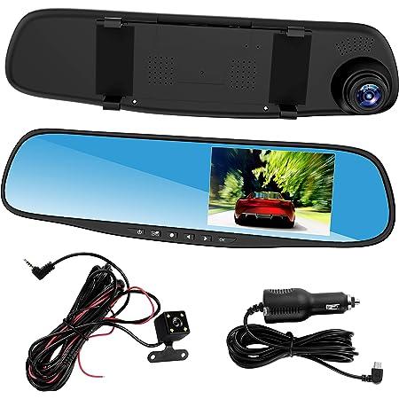 Esenlong Dash Cams Für Autos Vorne Und Hinten Dual Lens Elektronik