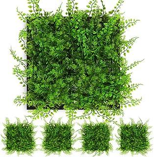NANTA Artificial Grass Wall Plant Living Wall Indoor...