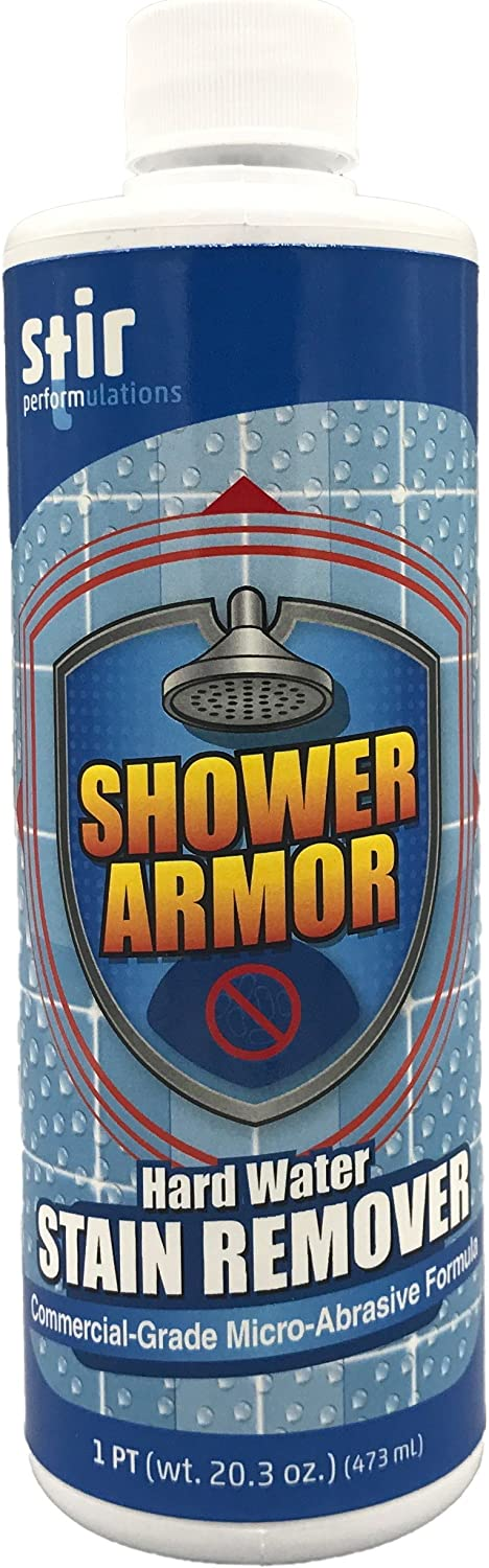 Hard Water Stain Seattle Mall Popular Remover - Micro-A Grade Armor Shower Commercial