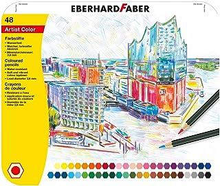 Eberhard Faber 516148 kredki Artist Color, 48 szt. blaszane etui