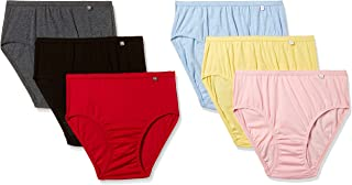 Jockey Women's Cotton Hipster (Pack of 6) (Colors May Vary) (1406_Dark Assorted + Light Assorted_S)