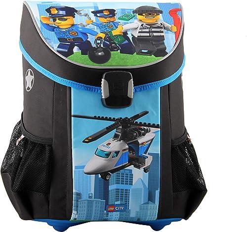 LEGO sacs Set de Sacs Scolaires, Police Chopper (Bleu) - 400805968