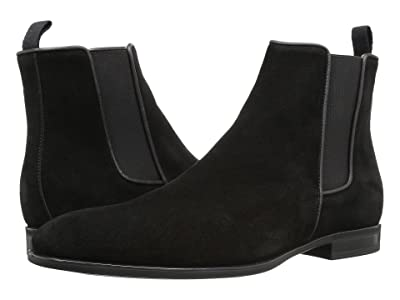 Aquatalia Adrian (Black Dress Suede) Men