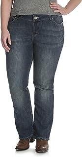 1cf19203ea2 Amazon.com  Wrangler - Jeans   Plus-Size  Clothing