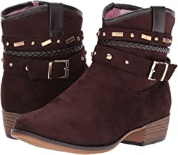 Suede Embellished Bootie (Little Kid/Big Kid)