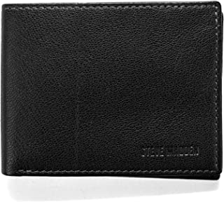 Steve Madden Leather RFID Wallet Extra Capacity Attached Flip Pocket