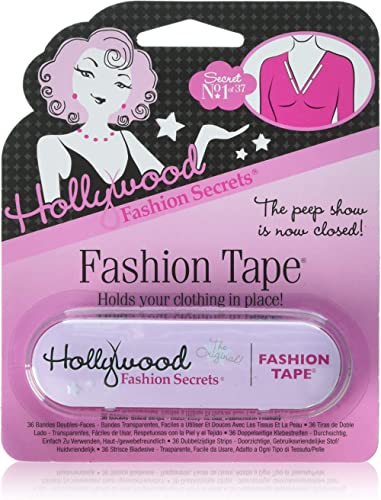 Hollywood Fashion Tape Double Stick Strips 36 Count
