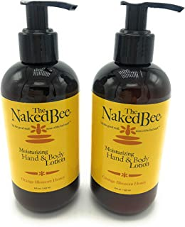 The Naked Bee Orange Blossom Honey Hand & Body Lotion, 8 oz - 2 Pack