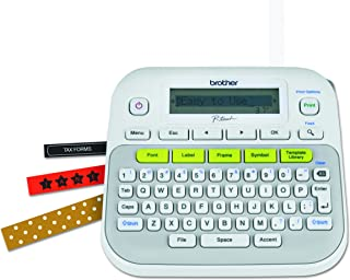 Brother P-touch, PTD210, Easy-to-Use Label Maker, One-Touch Keys, Multiple Font Styles,..