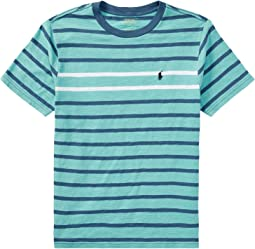 Polo Ralph Lauren Kids - Striped Cotton Jersey T-Shirt (Big Kids)