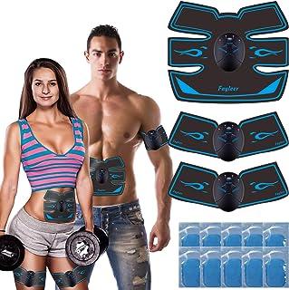 comprar comparacion fayleer Electroestimulador Muscular Abdominal Estimulador Muscular Abdominal para Abdomen Cintura Pierna Brazo Glúteos par...