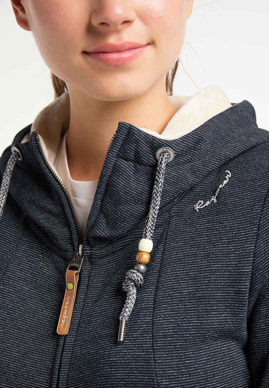 Ragwear LIBERTY A ORGANIC damen hoodie pullover sweatjacke vegane mode