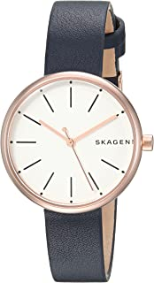 Skagen Women's SKW2592 Signatur Blue Leather Watch