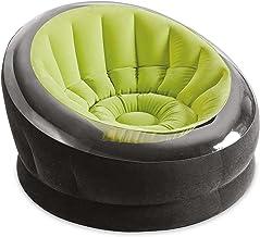 Intex 68582 Inflatable Empire Chair, Green/Black