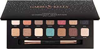 Garbo & Kelly Overnight Sensation Eyeshadow Palette, 16.8g