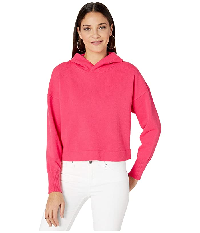 BB Dakota  All Hood Things Sweater (Hot Pink) Womens Sweater