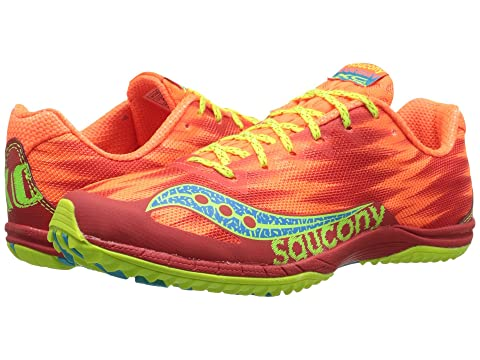 Womens Shoes Saucony Kilkenny XC5 (Flat) Vizi Orange/Citron