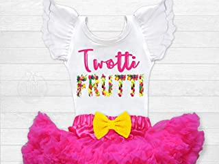Girls Twotti Fruitti Fruit Second Birthday Leotard