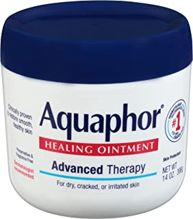 Aquaphor Healing Ointment – Moisturizing Skin Protectant for Dry Cracked Hands,..