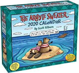 The Argyle Sweater 2020 Day-to-Day Calendar
