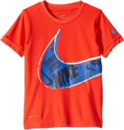 Muddy Swoosh Dri-FIT™ Short Sleeve Tee (Toddler/Little Kids)