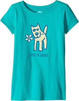 Rocket Daisy Crusher Tee (Little Kids/Big Kids)