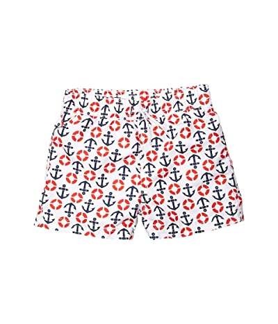 Janie and Jack Printed Swim Shorts (Toddler/Little Kids/Big Kids) (Multi) Boy