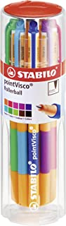 Stabilo Point Visco Drum Pointball Pen , Set of 10 , Multicolored (026858)