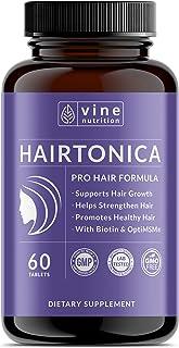 Hairtonica - Hair Vitamins for Faster Hair Growth - Best Hair Growth Supplement & Hair Vitamin - Support Hair Loss & Thinn...