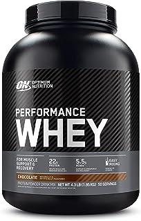 Optimum Nutrition Performance Whey Protein Powder, Whey Protein Concentrate, Whey Protein Isolate, Hydrolyzed Whey Protein...