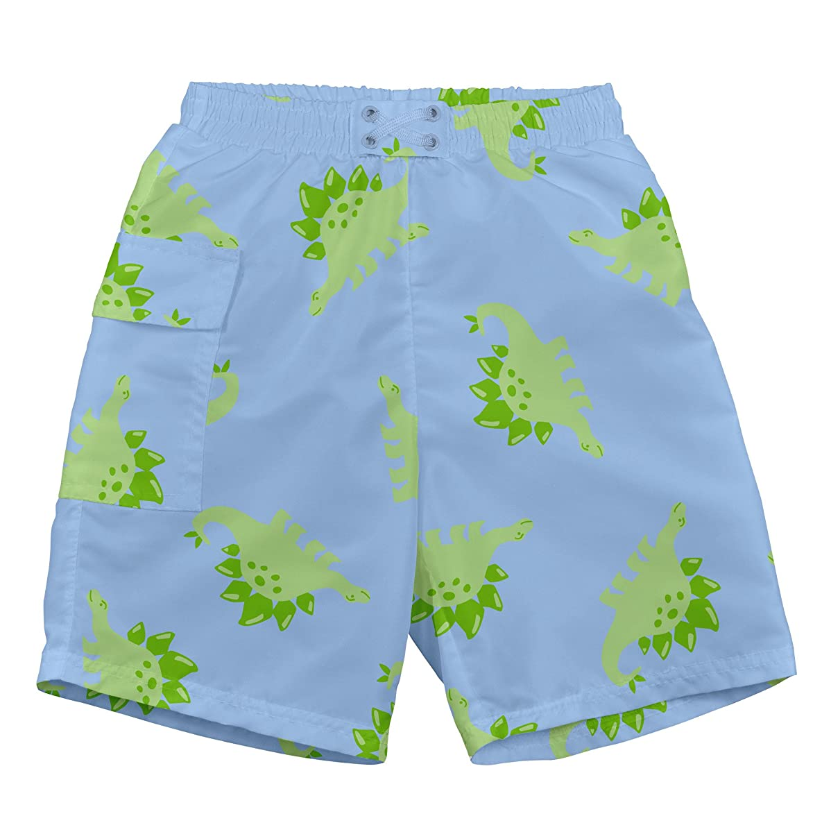 i play. Boys' Pocket Trunks with Built-in Swim Diaper