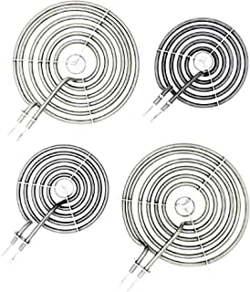 Supplying Demand WB30M1 WB30M2 4 PC Stove Top Burner Kit Compatible With GE Hotpoint
