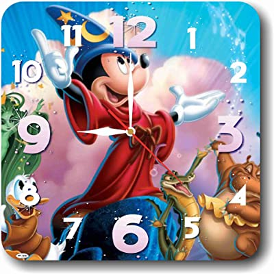 Mickey Mouse 11.4 Handmade Wall Clock - Get Unique décor for Home or Office