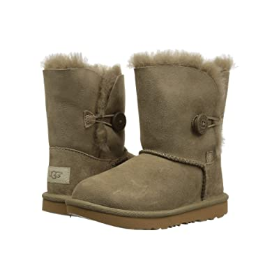 UGG Kids Bailey Button II (Toddler/Little Kid) (Antilope) Girls Shoes