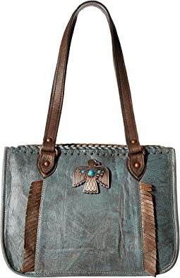 Thunderbird Ridge Multi-Compartment Zip Top Tote