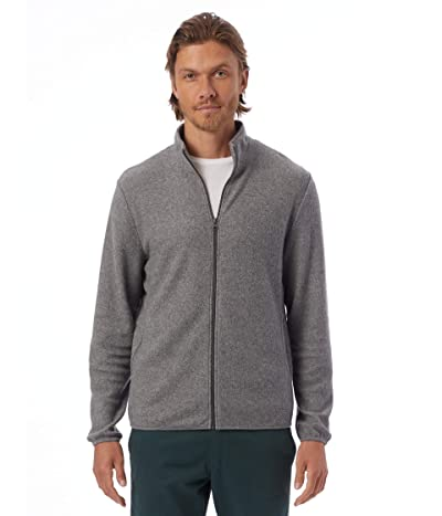 Alternative Eco-Teddy Full Zip Jacket (Eco Grey) Men