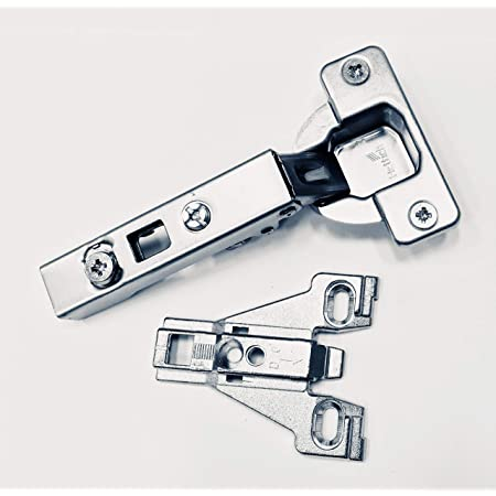 Hettich Euro 110 Full Overlay Hinge 0 Mm Or 4 5 Mm Face Frame Plate Combo 110 Degree Hinge W 0 Mm Plate
