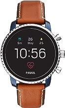 Fossil Men's Gen 4 Explorist HR Stainless Steel Touchscreen Smartwatch with Heart Rate, GPS, NFC,...