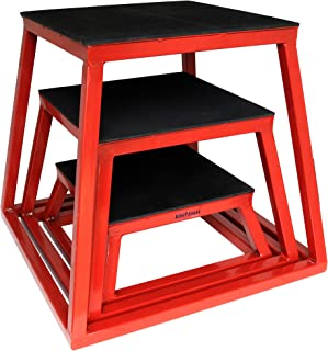 Plyometric Platform Box Set- 6, 12, 18
