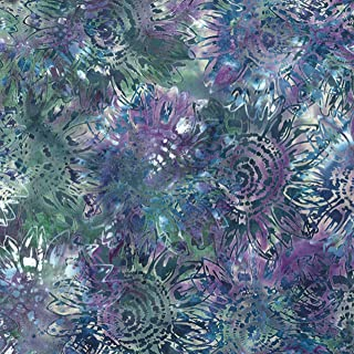 April~Seed to Blossom Batiks by McKenna Ryan Cotton Fabric for Hoffman