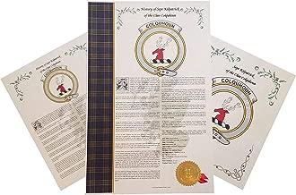 Robb of the Clan MacFarlane - Scottish Clan & Sept History 3 Print Combo - Tartan, Buckle, Crest, Genealogy, Family Tree Research