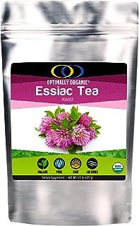 Optimally Organic Essiac Tea Powder - 8 Herbs - All Natural - (1/2 lb)
