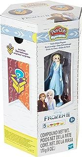Play-Doh Mysteries Disney Królowa lodu 2 Elsas kula śnieżna zabawka z 5 kolorami Play-Doh