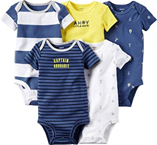 Carter's Baby Boys' 5 Pack Bodysuits 126g119