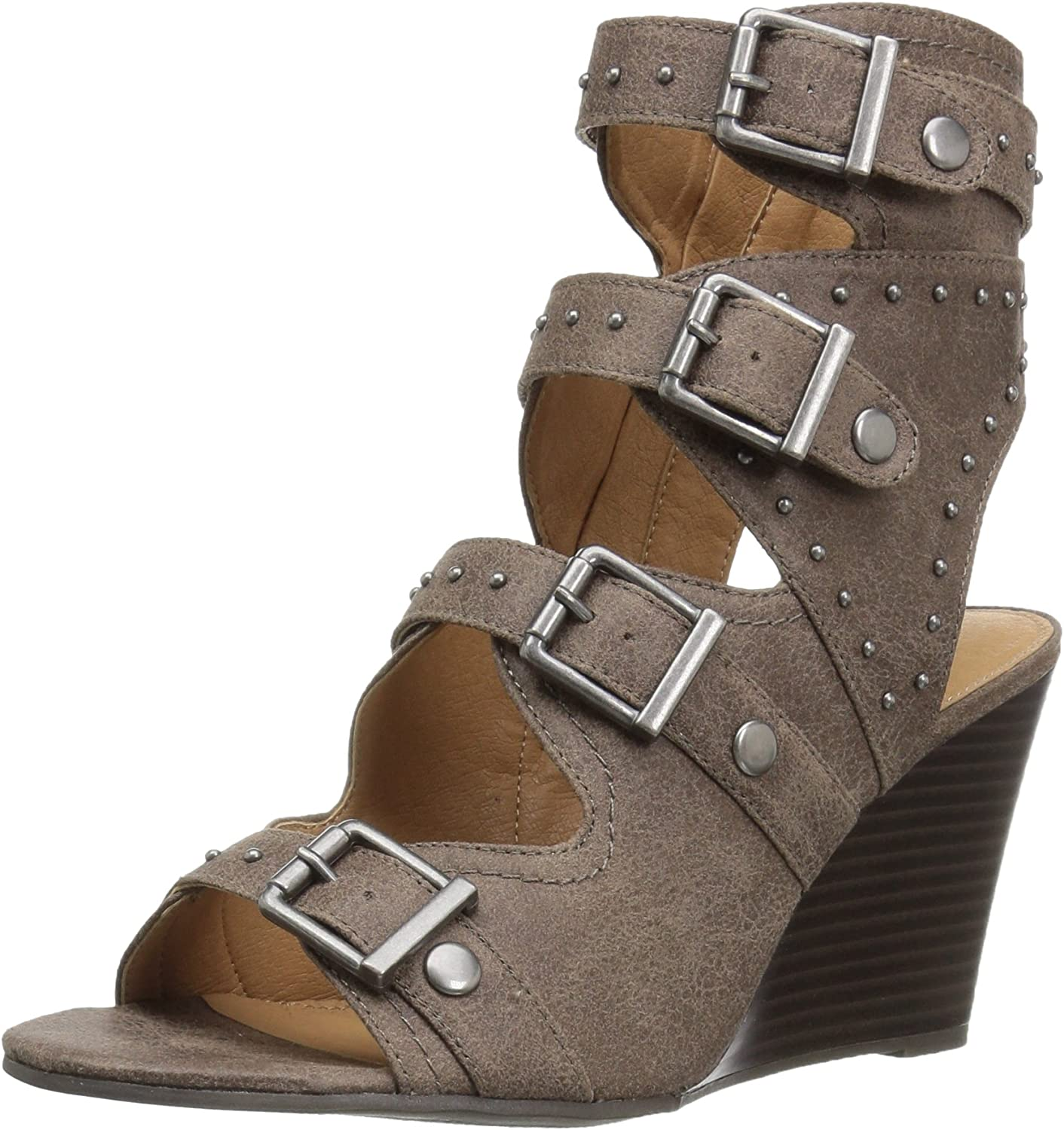 Sugar Womens Hucklebaby Wedge Sandal