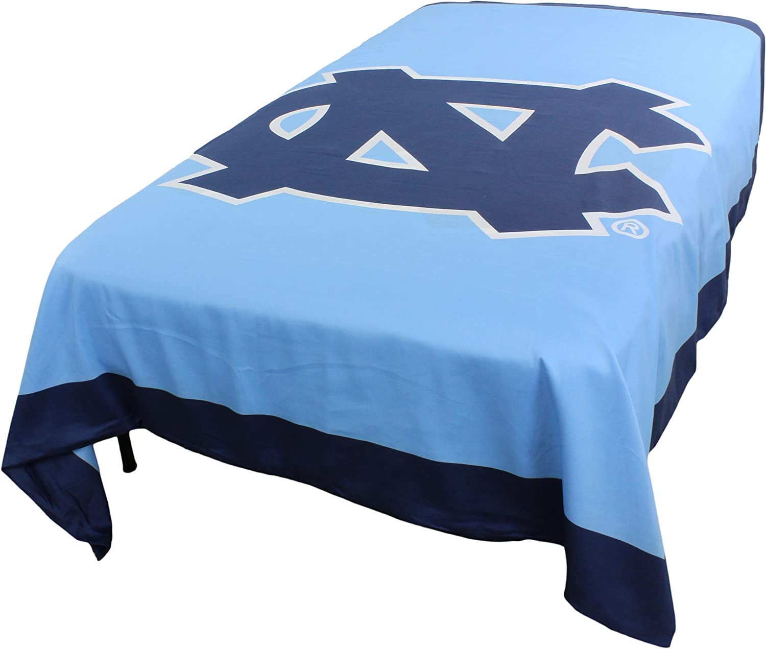 College Covers Discount mail order North Louisville-Jefferson County Mall Carolina Tar 2 Reversible Heels Sided Duvet