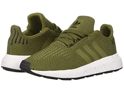 adidas Originals Kids Swift Run INF (Toddler) (Olive) Boys Shoes