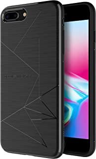 Nillkin iPhone 8 Plus Case, Magnetic TPU Case [Specially Designed Car Magnetic Wireless Charger] Slim Soft Back Cover for iPhone 8 Plus