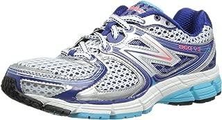 Women's New Balance 860 Running V3-7-B-Silver/Blue